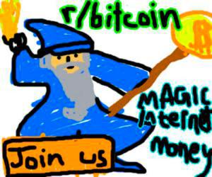 Cryptoff.net: Биткоин в подарок за лучший рисунок волшебника BTC