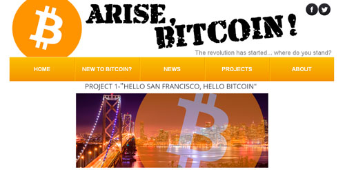 Cryptoff.net: Масштабная реклама Bitcoin в Сан Франциско
