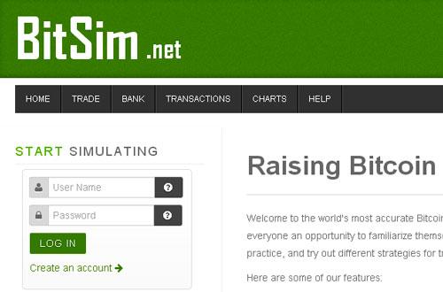 Cryptoff.net: Первый настоящий торговый Bitcoin симулятор BitSim