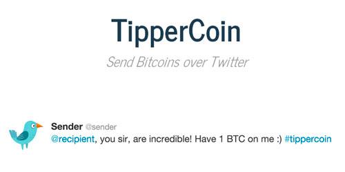 Cryptoff.net: Bitcoin переводы через Twitter с помощью TipperCoin