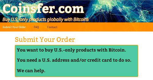 Cryptoff.net: В англоязычном сегменте интернета появился очередной полезный стартап, с помощью которого можно будет купить с доставкой на дом любой товар из американских интернет магазинов за Bitcoin.