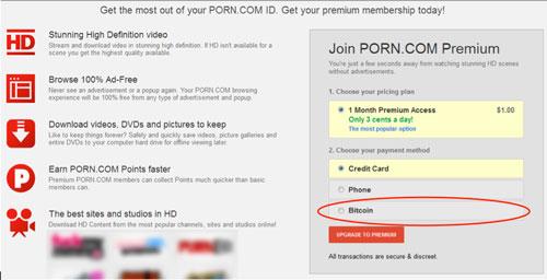 Cryptoff.net: Porn.com стал принимать BTC к пятилетию криптовалюты