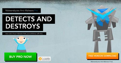 Cryptoff.net: MalwareBytes начала принимать Bitcoin